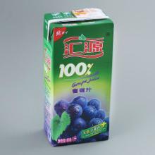 供应汇源100葡萄汁1L12盒/箱批发价格/果汁饮料经销商批发