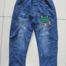 佛山亮道长期供应儿童裤子 洗水卡通外贸儿童牛仔裤 佛山儿童服装批发