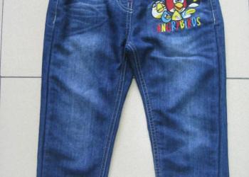 2012秋装裤子卡通洗水儿童牛仔裤图片
