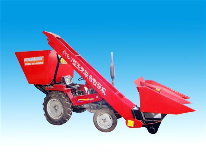 玉米收获机图片 玉米收获机样板图 南开玉米收获机