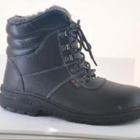 劳保棉靴冬鞋靴保护足趾人造毛棉鞋