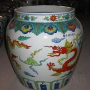 陶瓷小件装饰瓷器斗彩五彩小瓷器图片