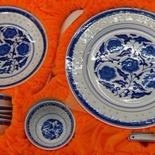 供应江西特产景德镇陶瓷青花玲珑瓷碗,正宗景德镇青花瓷、玲珑瓷碗图片