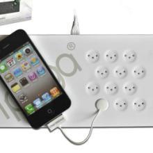 供应三星HTC黑莓iphone磁力感应充电器批发
