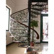 供应铁艺楼梯   楼梯栏杆扶手  旋转楼梯  颜色款式可.