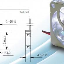 供应散热风扇小型/微型电动机151504