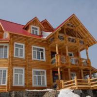 供应榆林重型木别墅图片