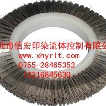 供应钢丝刷钢丝刷轮定型机钢刷轮