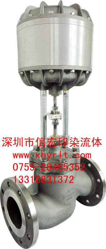 薄膜_薄膜供货商_供应双气缸薄腊膜阀二通双气缸薄膜图片