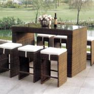藤椅吧台巴凳系列酒吧藤椅咖啡吧藤图片