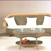 6919蓝带藤椅沙发昆明盘龙藤器