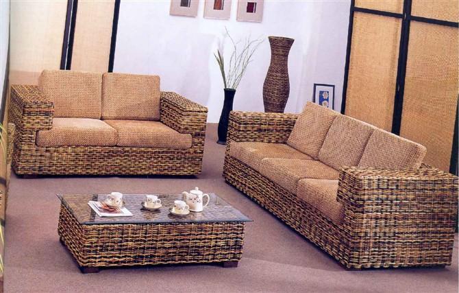 供应昆明盘龙藤椅客厅U形藤木沙发系列,藤椅,客厅藤椅图片,客厅藤椅