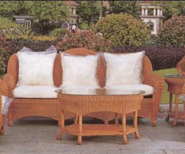 供应3003大骨沙发昆明盘龙藤椅家具,家庭客厅藤椅,酒店大堂藤椅沙发图片