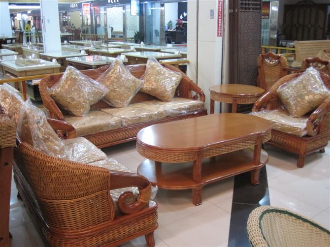供应客厅藤椅沙发昆明盘龙藤椅雅君藤木图片