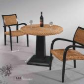 藤椅餐桌椅休闲藤木沙发藤木圆桌