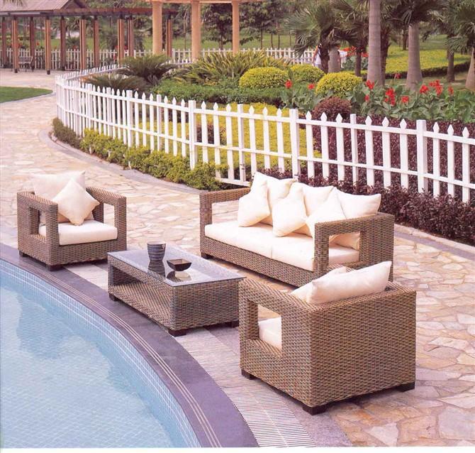 供应昆明藤椅藤木家具客厅沙发居家客厅图片