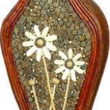 供应708藤编花瓶摆件摆饰小家居饰品,插花花瓶,室内装饰花瓶,花瓶