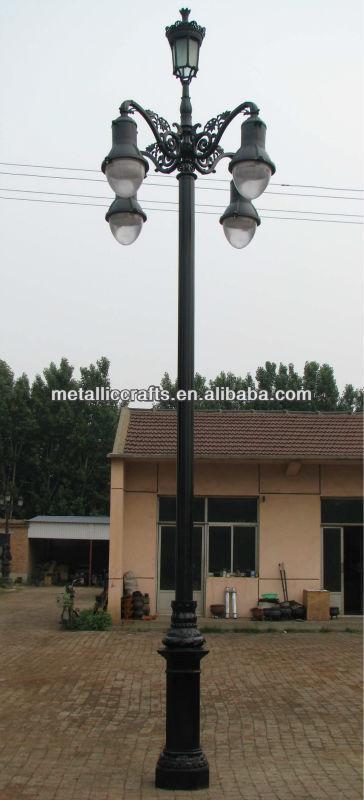供应装饰铸铁路灯l-606图片
