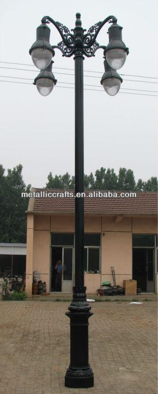 供应装饰铸铁路灯l-614图片