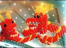 供应北京气球编织进口球皮气球造型编织批发