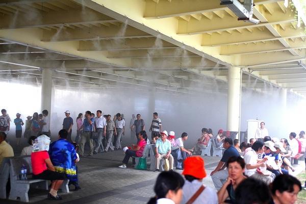 供应车站汽车站喷雾降温系统车站汽车站喷雾降温系统设备