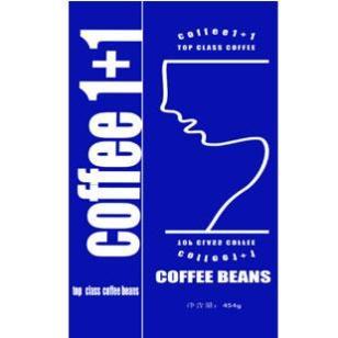综合热咖啡豆图片