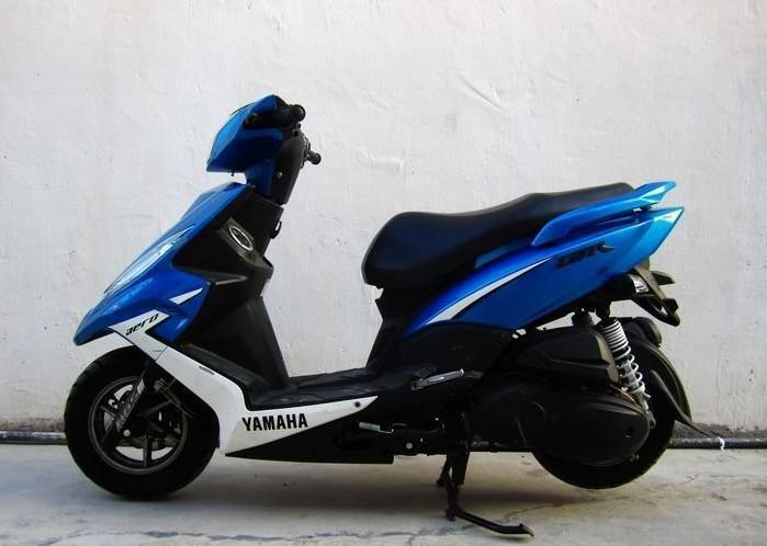 TR125跑车摩托车 雅马哈踏板车价格 碣石重型机车行图片