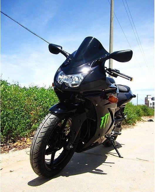 进口公路赛跑车摩托车09年川崎ZX250R电喷小忍者重型机车 忍者价图片