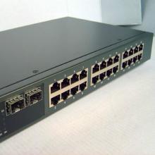 供应ECOM 24口光电复用即插即用全千兆交换机S2610GF2