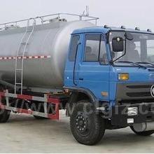 供应国四东风153型粉粒物料运输车16.2方散装水泥车价格