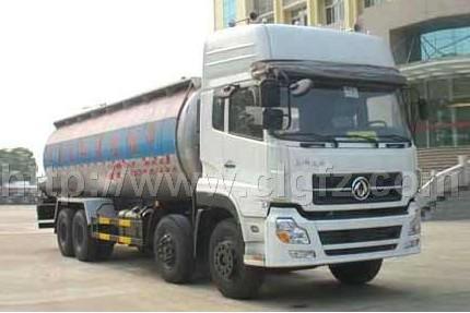 供应东风天龙前四后八散装水泥运输车/中型运输车直销