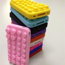 供应积木苹果手机套+各种款式手机套批发