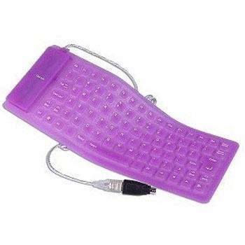 供应硅胶无线电脑键盘