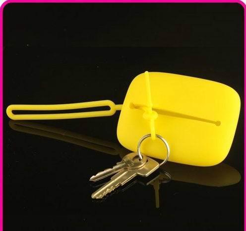 深圳硅胶礼品生产厂家 铭锐硅胶制品开模加工 硅胶钥匙包 硅胶钱包