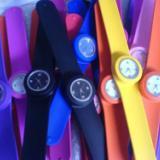 供应广东深圳最好看的硅胶啪啪手表生产