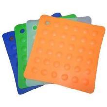 硅胶水杯垫生产加工厂家 硅胶水杯隔热垫批发 餐具防滑隔热垫