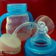 120ml葫芦型奶瓶+液体硅胶奶瓶图片