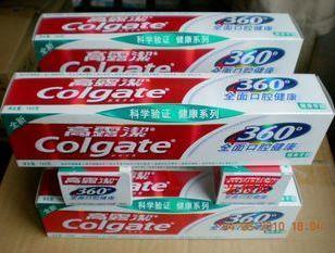 旅行小牙膏高露洁360牙膏健洁18g图片