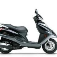 豪爵宇钻125cc踏板摩托车图片