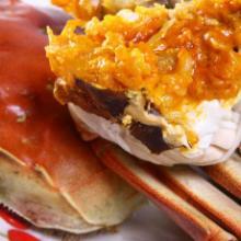 蟹菊腌肉卷