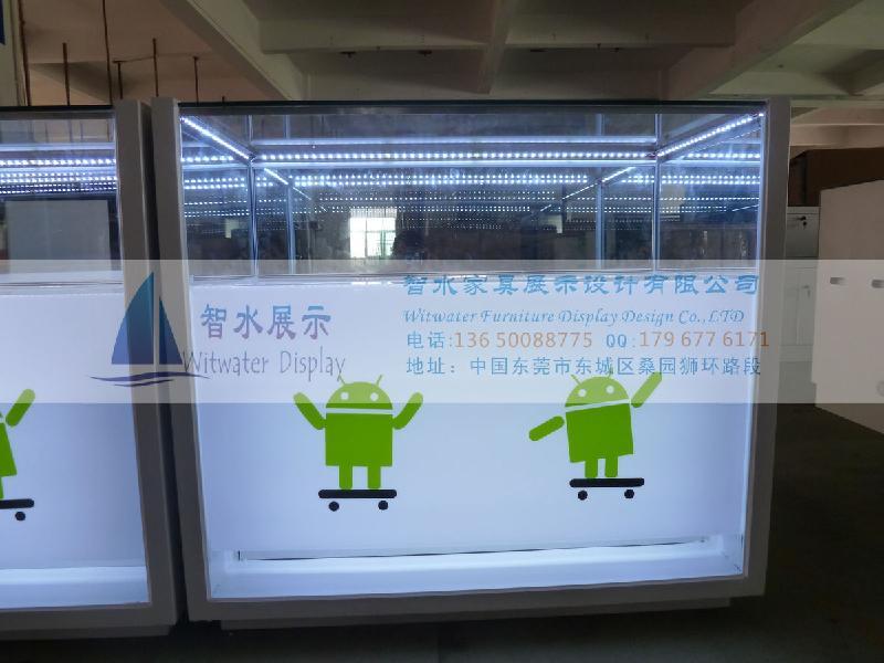 供应2012新款安卓手机柜台 订做OP款安卓手机柜台 手机柜台批发
