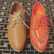 厂家定做尖头女式皮鞋、厂家生产休闲女鞋、厂家批发女鞋、时装女鞋厂批发