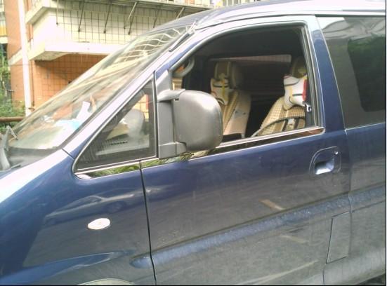 板图 东风风行菱智车窗饰条 广东佛山德顺汽车用品有限公司 高清图片