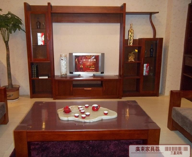 电视柜_电视柜供货商_网购中式实木影视墙电视柜什么