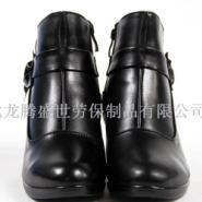 供应新款牛皮皮鞋黑色休闲女鞋