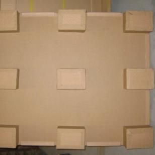 九脚型纸卡板纸托盘纸栈板图片