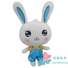 供应兔子毛绒玩具、毛绒公仔、企业毛绒玩具礼品-东莞百乐毛绒玩具厂批发