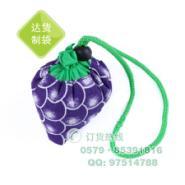 水果葡萄折叠环保购物袋图片