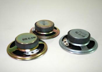 铁壳外磁纸盘喇叭图片