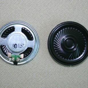 40mm环保扬声器铁内磁超薄玩具喇叭图片
